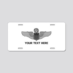 PERSONALIZED COMMAND PILOT Aluminum License Plate