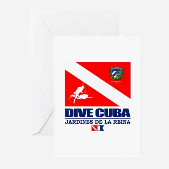 Dive Cuba Greeting Cards