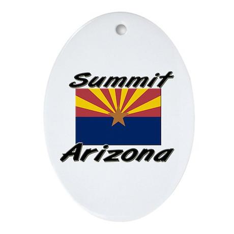 Summit Arizona Oval Ornament