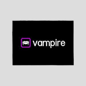 Vampire (Poison Purple) 5'x7'Area Rug