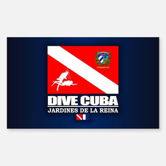 Dive Cuba Decal