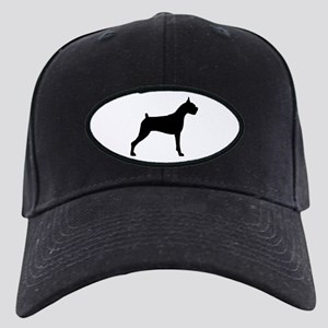 Boxer Dog Black Cap