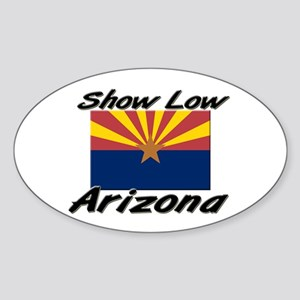 Show Low Arizona Oval Sticker