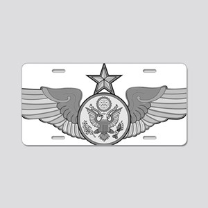 SENIOR ENLISTED AIRCREW WIN Aluminum License Plate