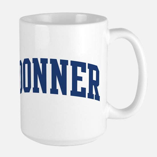 DONNER design (blue) Mugs