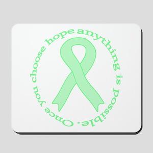 Mint Green Hope Mousepad