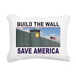 THE WALL Rectangular Canvas Pillow