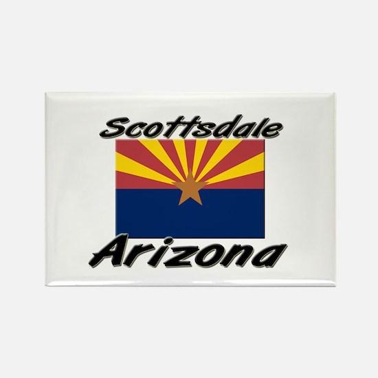Scottsdale Arizona Rectangle Magnet