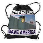 THE WALL Drawstring Bag