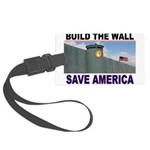 THE WALL Luggage Tag