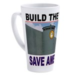 THE WALL 17 oz Latte Mug