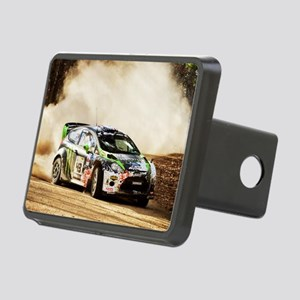Rally Car Rectangular Hitch Cover