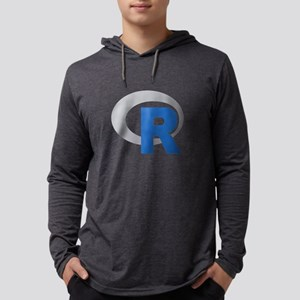 R Programming Language Logo New Long Sleeve T-Shir