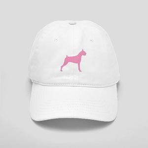 Pink Boxer Dog Cap