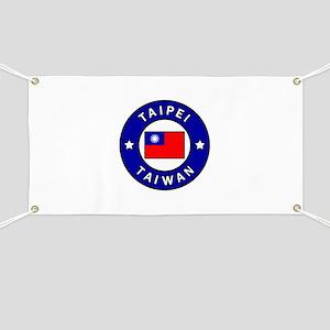 Taipei Taiwan Banner