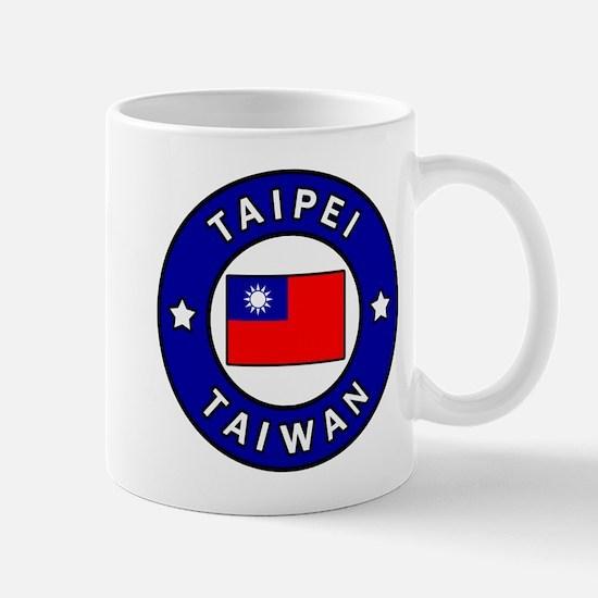 Taipei Taiwan Mugs