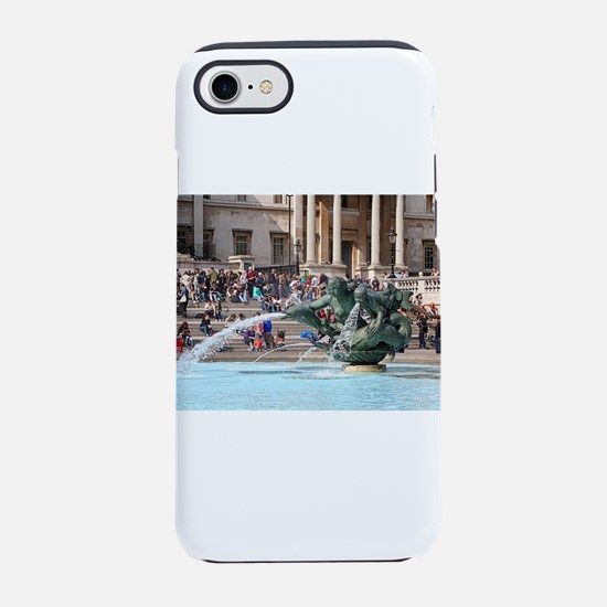 Fountain, Trafalgar Square, iPhone 8/7 Tough Case