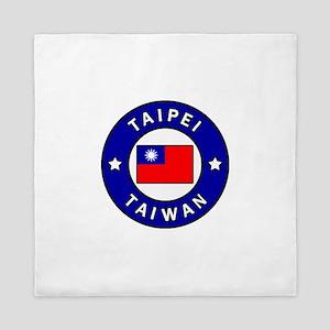 Taipei Taiwan Queen Duvet