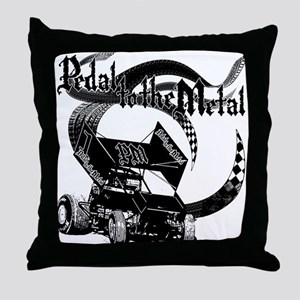 Pedal to the Metal - Sprint Throw Pillow