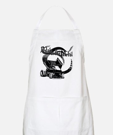 Pedal to the Metal - Sprint BBQ Apron
