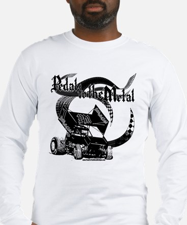 Pedal to the Metal - Sprint Long Sleeve T-Shirt