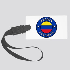 Bogota Colombia Large Luggage Tag