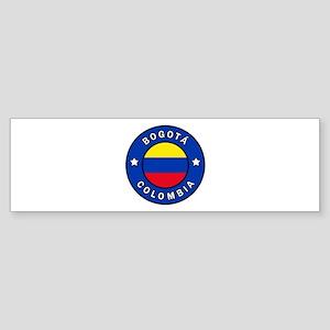 Bogota Colombia Bumper Sticker