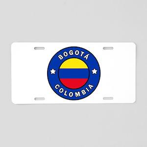 Bogota Colombia Aluminum License Plate