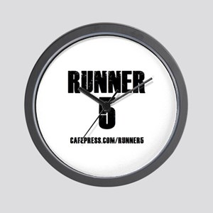 RUNNER 5 Wall Clock