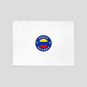 Bogota Colombia 5'x7'Area Rug