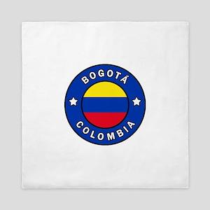 Bogota Colombia Queen Duvet