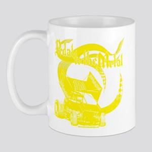 Pedal to the Metal - Yellow Mug