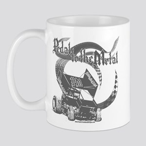Pedal to the Metal - Grey Mug