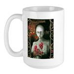 """LONELY"" By Dean Calusdian Large Mug"