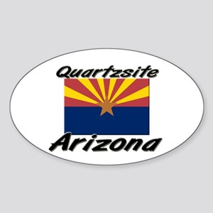 Quartzsite Arizona Oval Sticker