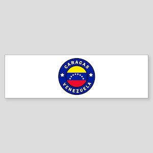 Caracas Venezuela Bumper Sticker