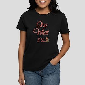 Cat Lovers It is what it is T-Shirt