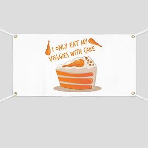 Veggie Cake Banner