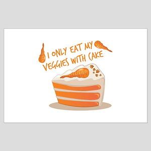 Veggie Cake Posters