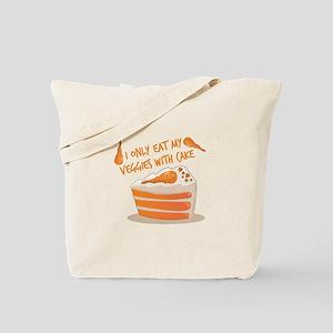 Veggie Cake Tote Bag