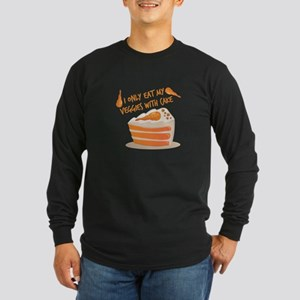Veggie Cake Long Sleeve T-Shirt