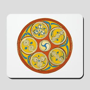 Lughnasadh Celtic Spiral Mousepad