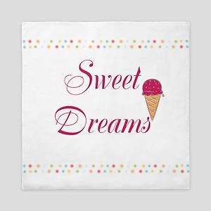 Cute Funny Sweet Dreams Queen Duvet