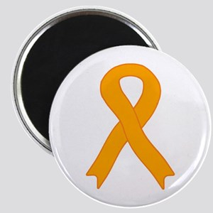 Orange Ribbon Magnet