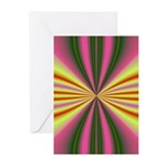 Pink Lady Fractal Greeting Cards (Pk of 10)