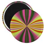 Pink Lady Fractal Magnet