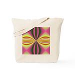 Pink Lady Fractal Tote Bag