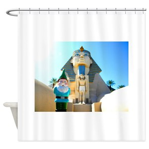 Funny Gnome Shower Curtains