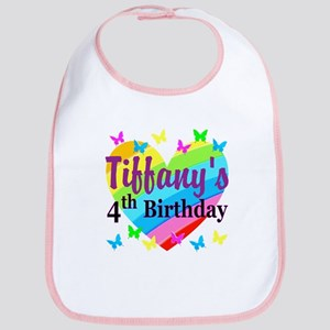 PERSONALIZED 4TH Bib
