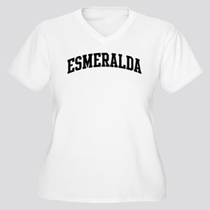 ESMERALDA (curve) Women's Plus Size V-Neck T-Shirt